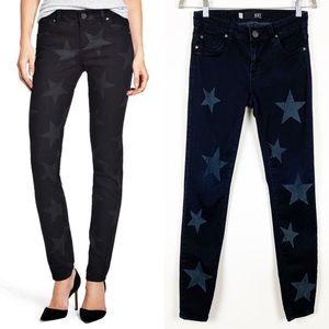 Kut from the Kloth Mia Toothpick Star Print Jeans
